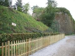 Fortifications - Français:   Enclos des lynx du zoo de Maubeuge après la tempête du 03 août 2008