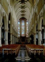 Eglise Saint-Christophe - Français:   La nef de l\'église Saint-Christophe à Tourcoing (Nord).