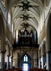 Eglise Saint-Christophe - Français:   L\'orgue de l\'église Saint-Christophe de Tourcoing (Nord).