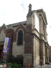 Eglise Saint-Géry - English: Saint-Gery's church of Valenciennes (Nord, France).