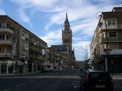 Hôtel de ville -  Hotel de Ville de Dunkerque.