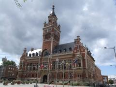 Hôtel de ville - English: Hôtel de Ville of Dunkerque