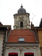 Hôtel de ville et beffroi - English:   The belfry of Aire-sur-la-Lys, Pas-de-Calais, France.