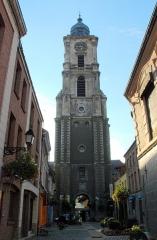 Hôtel de ville et beffroi - Français:   beffroi à Aire-sur-la-Lys