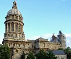 Ancienne cathédrale Notre-Dame - Français:   Cathédrale Notre-Dame de Boulogne-sur-Mer en cours de restauration