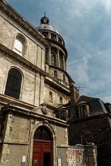 Ancienne cathédrale Notre-Dame - English: Boulogne-sur-Mer - Ville Haute - Rue de Lille - View NNE on Basilica of Notre-Dame de Boulogne