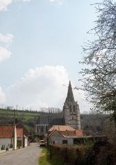 Eglise Saint-Omer -  Merck-Saint-Liévin (Frankreich, Dept. Pas-de-Calais), Audomaruskirche (église Saint-Omer), 16. Jh.