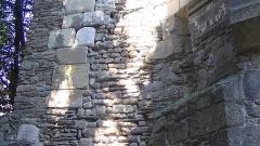Enceinte gallo-romaine (vestiges) - Français:   Remnants of Roman masonry, incorporated into Porte Saint-Pierre, Nantes