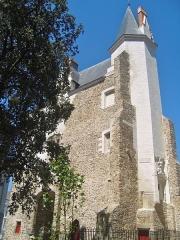 Porte gallo-romaine, dite du Bastion Saint-Pierre, dépendant de l'ancien évêché - Français:   Porte Saint-Pierre, vestige des remparts de Nantes