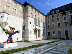 Logis Barrault - English: Fine arts museum of Angers (France)