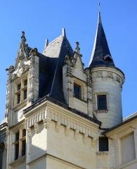 Logis Barrault - Français:   Logis Barrault (tour avec clocheton) - Angers (France)