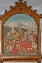 Eglise des Tuffeaux - Deutsch:   Kreuzweg in Notre-Dame des Tuffeaux in Chênehutte-Trèves-Cunault.
