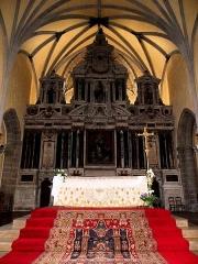Eglise Notre-Dame des Cordeliers - Français:   Maître-autel et retable de l\'église Notre-Dame-des-Cordeliers de Laval (53). Architecte: Pierre Corbineau.