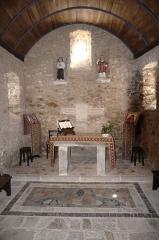 Eglise Saint-Pierre - Français:   L\'intérieur de l\'église Saint-Pierre à Saulges, Mayenne.