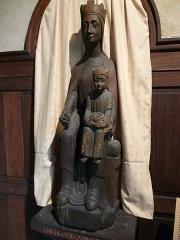 Eglise Saint-Pierre - Français:   Notre-Dame-des-Oui-Noué (bois xxe siècle copie d\'une \