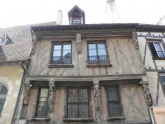 Maison - Français:   Vieille maison à la Ferté-Bernard (72).