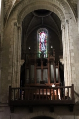 Eglise Notre-Dame-du-Pré - Intérieur de l'église Notre-Dame-du-Pré au Mans (72). Grandes-Orgues.