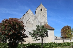Eglise - Français:   Église Saint-Jean-Baptiste de Vezot  - wiki takes le Saosnois