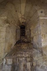 Eglise - Français:   La crypte de l'église Notre-Dame-des-Anges.
