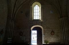 Eglise - Français:   L'entrée de l'église Notre-Dame-des-Anges.