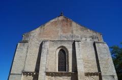 Eglise - Français:   La façade de l'église Notre-Dame-des-Anges.