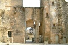 Motte féodale - English: Chateauneuf castle, Chateauneuf, Bourgogne, France