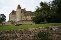 Motte féodale - Château de Châteauneuf, Châteauneuf, Côte-d'Or, Bourgogne, France
