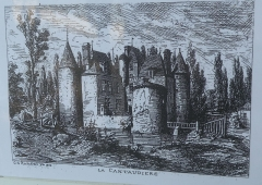 Château de la Cantaudière - Français:   Château de la Cantaudière