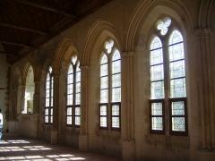 Porte de l'ancienne église abbatiale de Notre-Dame du Voeu -  Abbaye Notre-Dame du Voeu, Cherbourg-Octeville -  Réfectoire.