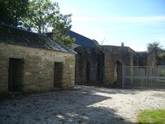 Porte de l'ancienne église abbatiale de Notre-Dame du Voeu -  Abbaye Notre-Dame du Voeu, Cherbourg-Octeville -
