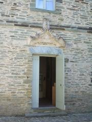 Porte de l'ancienne église abbatiale de Notre-Dame du Voeu -  Abbaye Notre-Dame du Voeu, Cherbourg-Octeville - Porte du logis abbatial.