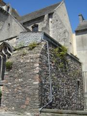 Basilique Sainte-Trinité - Français:   Reste de fortifications de la ville de Cherbourg, à proximité de la Basilique Sainte-Trinité de Cherbourg.