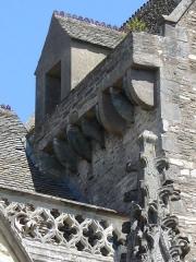 Basilique Sainte-Trinité - Français:   Vue sur le clocher ancien de la Basilique Sainte-Trinité de Cherbourg.