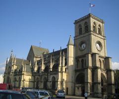 Basilique Sainte-Trinité -  Cherbourg (France): basilique Sainte-Trinité