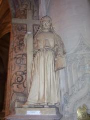 Basilique Sainte-Trinité -  Statue de Sainte Marie-Madeleine-Postel, Basilique de la Trinité, Cherbourg.