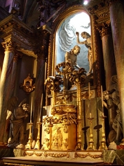 Basilique Sainte-Trinité -  Gloire dans le choeur de la basilique de la Trinité, Cherbourg-Octeville
