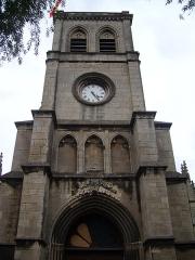 Basilique Sainte-Trinité -  Clocher de la basilique de la Trinité (face ouest), Cherbourg