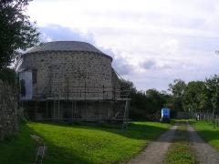 Abbaye de la Lucerne - English: Abbey of Saínte Trinité de La Lucerne, dovecote