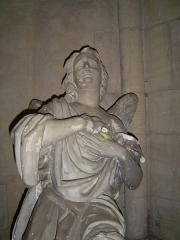 Eglise Notre-Dame -  Statue put off on Notre-Dame church, Saint-Lô