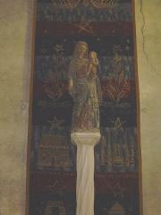 Eglise Notre-Dame - English: statue of Notre-Dame church, Saint-Lô