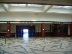 Ancienne gare maritime -  Gare transatlantique de Cherbourg -  Salle des Pas-perdus
