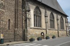 Eglise Saint-Martin - Deutsch: Katholische Kirche Saint-Martin in L'Aigle im Département Orne (Region Normandie/Frankreich)