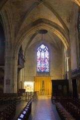 Eglise Saint-Martin -  Intérieur de l'église Saint-Martin de L'Aigle (Eure, Normandie, France)