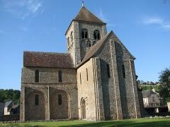 Eglise Notre-Dame-sur-l'Eau ou Notre-Dame-sous-l'Eau -  Notre Dame sur l'eau, Domfront church of Notre Dame sur l'eau, Domfront