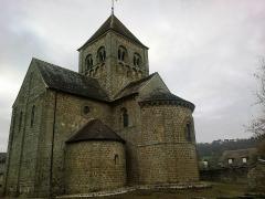 Eglise Notre-Dame-sur-l'Eau ou Notre-Dame-sous-l'Eau -  Orne Domfront Notre-Dame Sur l'Eau 02012013