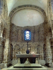 Eglise Notre-Dame-sur-l'Eau ou Notre-Dame-sous-l'Eau -  Orne Domfront Notre-Dame-Sur-L'Eau Choeur 02012013