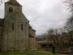 Eglise Notre-Dame-sur-l'Eau ou Notre-Dame-sous-l'Eau -  Orne Domfront Notre-Dame-Sur-L'Eau Cote Sud 02012013