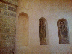 Eglise Notre-Dame-sur-l'Eau ou Notre-Dame-sous-l'Eau -  Orne Domfront Notre-Dame-Sur-L'Eau Fresques 02012013