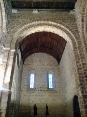 Eglise Notre-Dame-sur-l'Eau ou Notre-Dame-sous-l'Eau -  Orne Domfront Notre-Dame-Sur-L'Eau Nef 02012013
