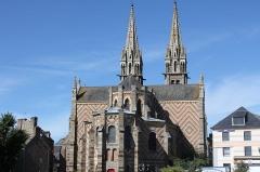 Eglise Notre-Dame de l'Assomption - Français:   Église Notre-Dame-de-l\'Assomption de la Ferté-Macé (France). Cœur.
